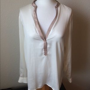 Willi Smith Sheer Blouse M